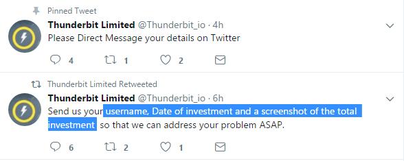 Thunderbit scam