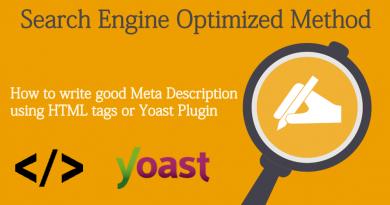 Meta Description to Website